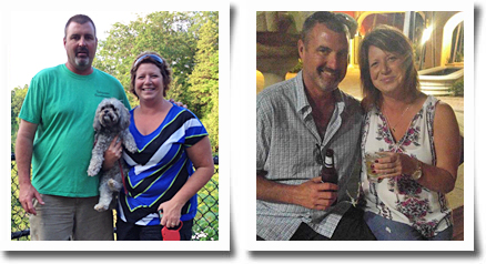 tracy and gary weight loss success